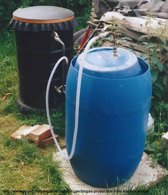 Biogas Production from Kitchen Waste
