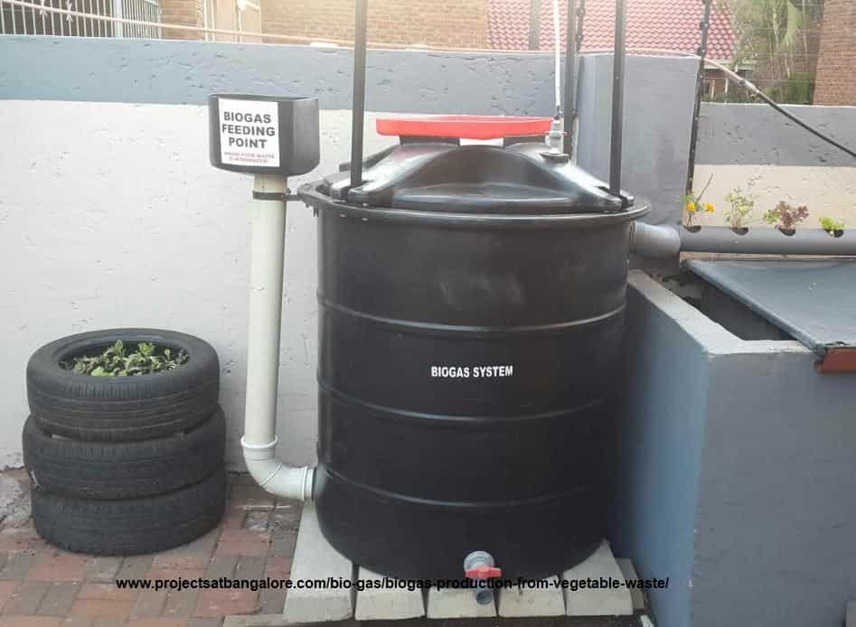 Biogas Production from Vegetable Waste
