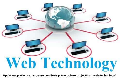 IEEE Projects on Web Technology