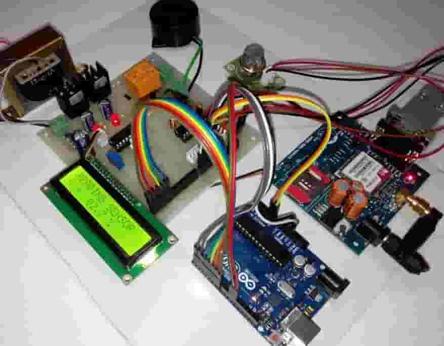 Final year Projects using Arduino